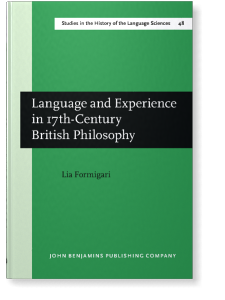 Language and Experience in XVIIth-century British Philosophy